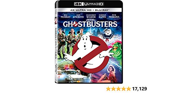 Ghostbusters [4K+ Blu-ray + Digital]  - $12.99