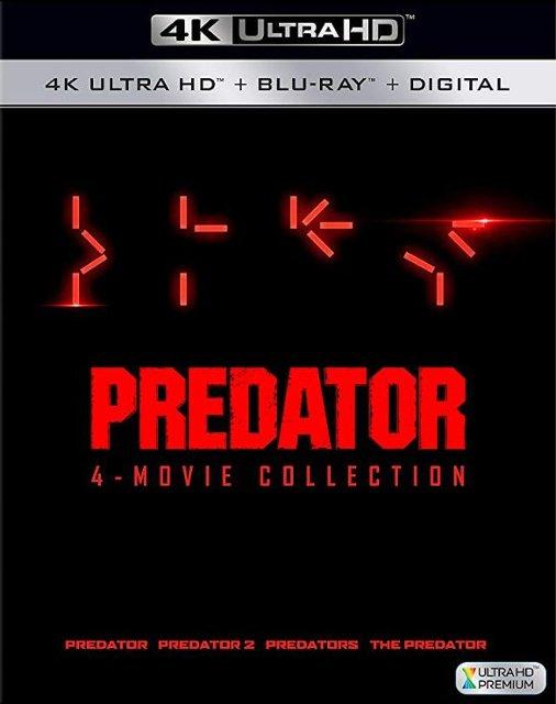 Predator 1-4 [Includes Digital Copy] [4K Ultra HD Blu-ray/Blu-ray] - $27.99 at Best Buy