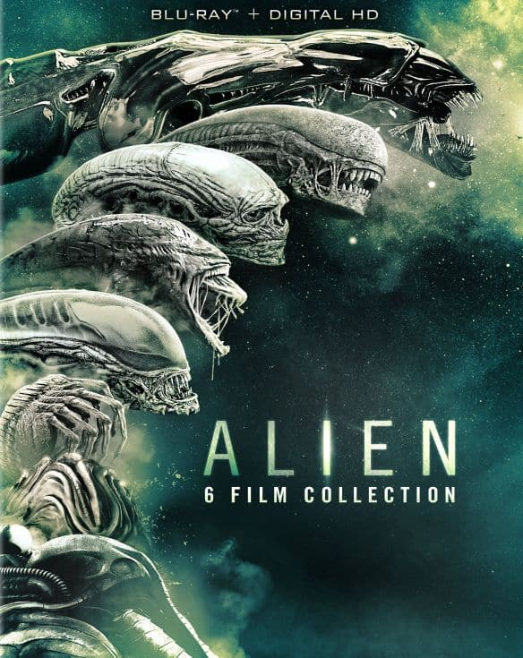 Alien: 6 Film Collection [Includes Digital Copy] [Blu-ray] - $22.99 at Best Buy