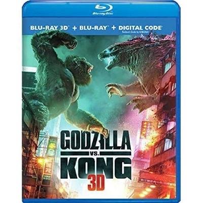 Godzilla vs. Kong (Blu-ray 3D + Blu-Ray + Digital) - $22.39