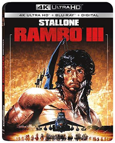 RAMBO III (4K Ultra HD + Blu-ray + Digital) - $7.50 at Amazon