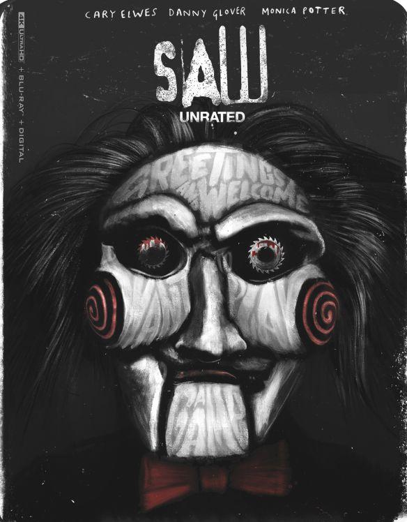 Saw [Includes Digital Copy] [4K Ultra HD Blu-ray/Blu-ray] [2004] - $11.99