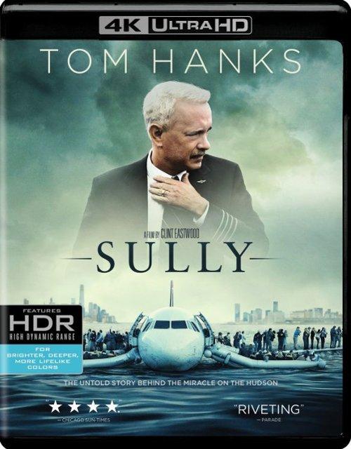 Sully [4K Ultra HD Blu-ray/Blu-ray/Digital] [2016] - $14.99