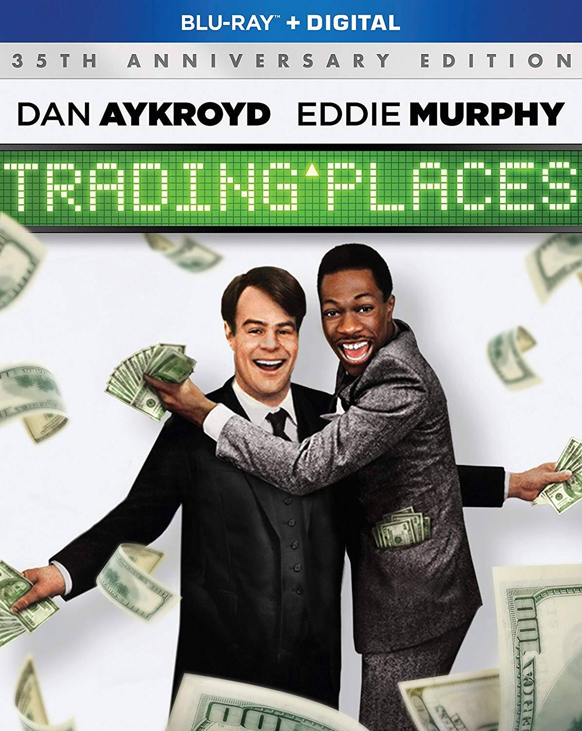 Trading Places [Blu-ray + Digital] $6 + free shipping w/ prime or $25+