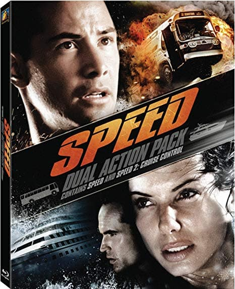 Blu-ray Dual Action Pack: Speed & Speed 2: Cruise Control (Blu-ray) $10 @ Best Buy/Amazon