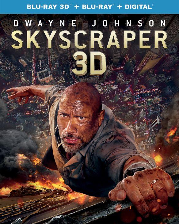 Skyscraper (3D Blu-ray + Blu-Ray + Digital) $13