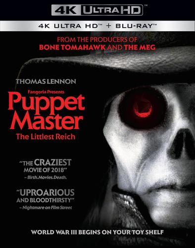Puppet Master: The Littlest Reich (4K UHD + Blu-ray) $8 @ Amazon/Walmart