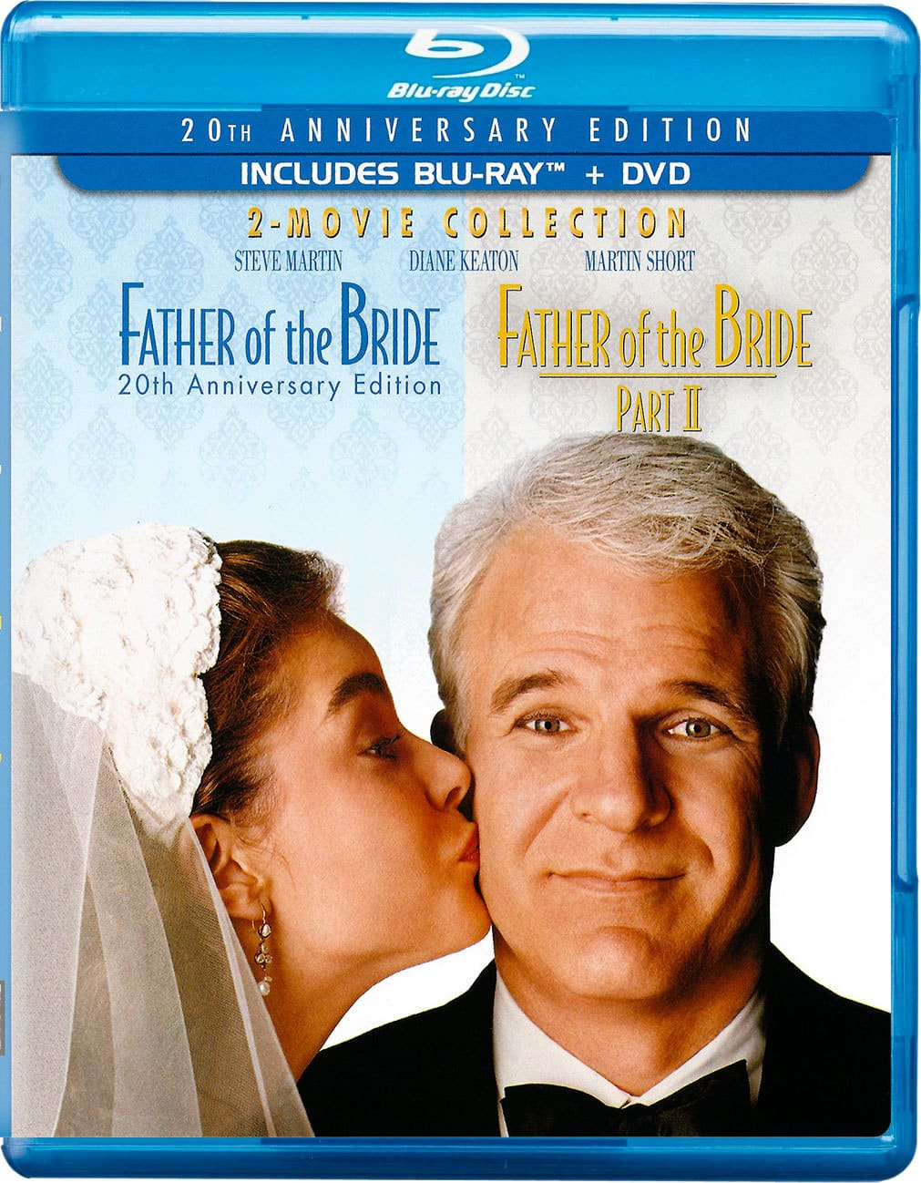 Father of the Bride 1 & 2 Collection (Blu-ray + DVD) $13