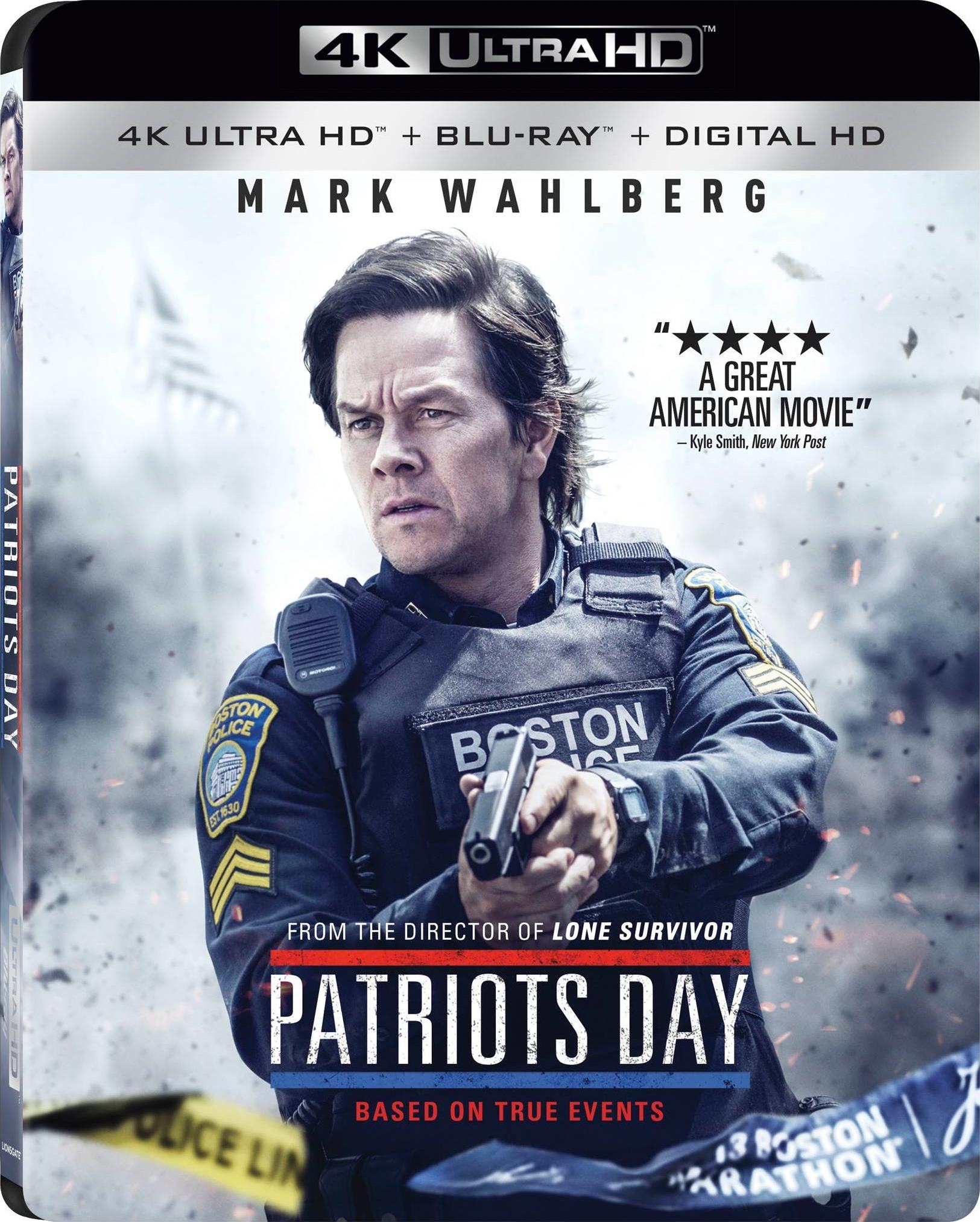 American Assassin or Patriot's Day (4K UHD + Blu-ray + Digital) $10