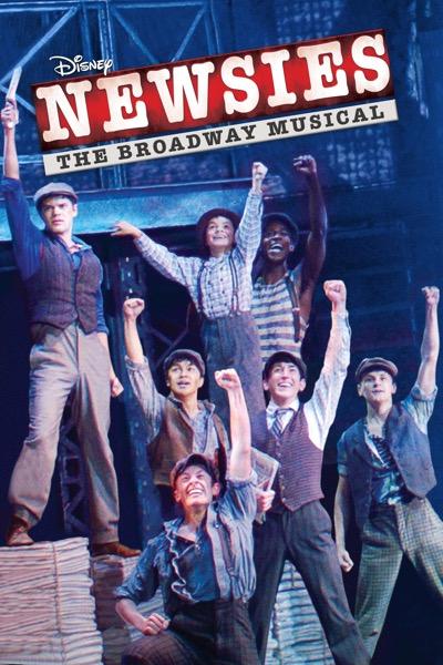 Disney - Newsies: The Broadway Musical (iTunes Digital HD movie download) $7.99