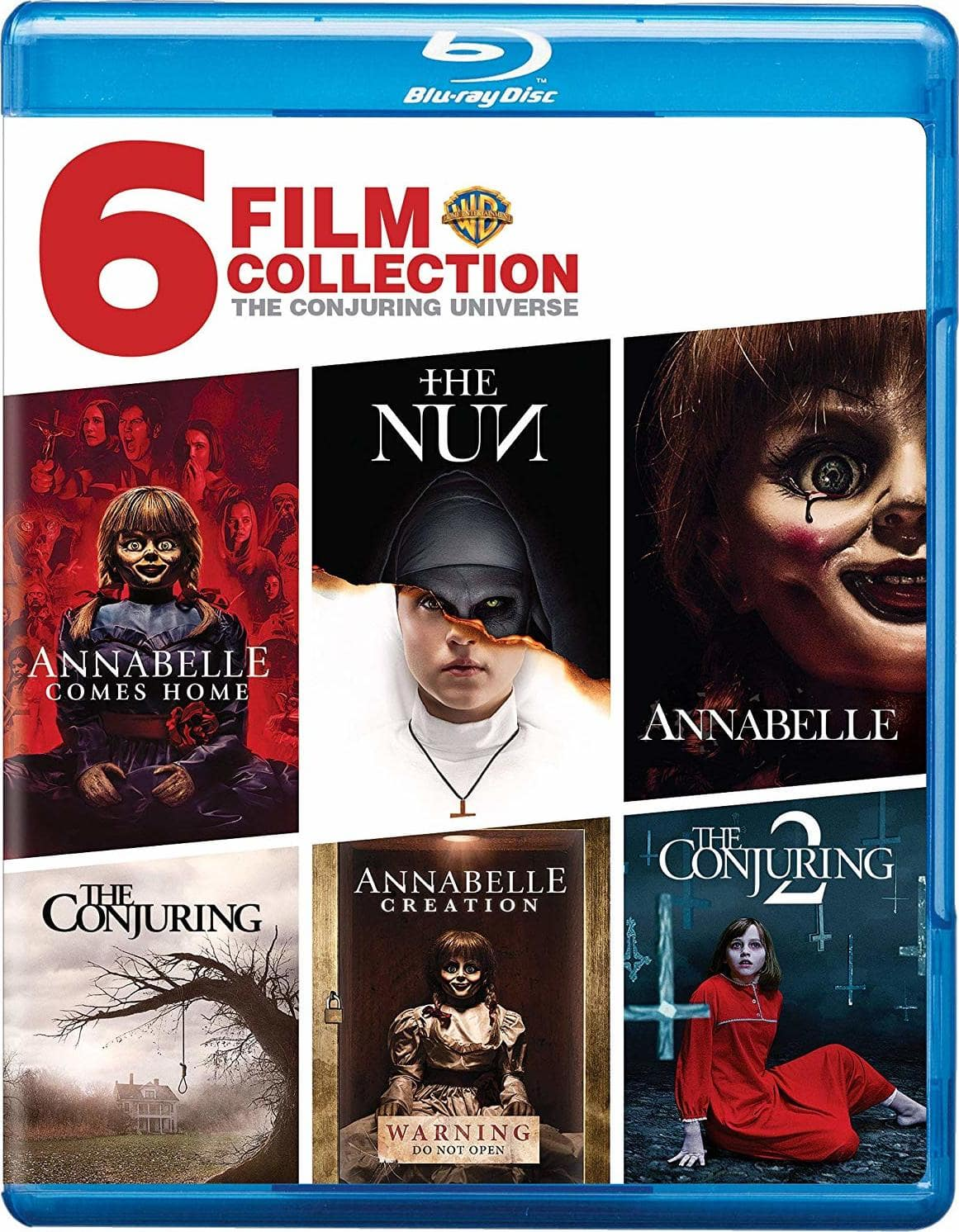 Conjuring Universe (6-Film Collection) [Blu-ray] $34.99 @Target/Amazon