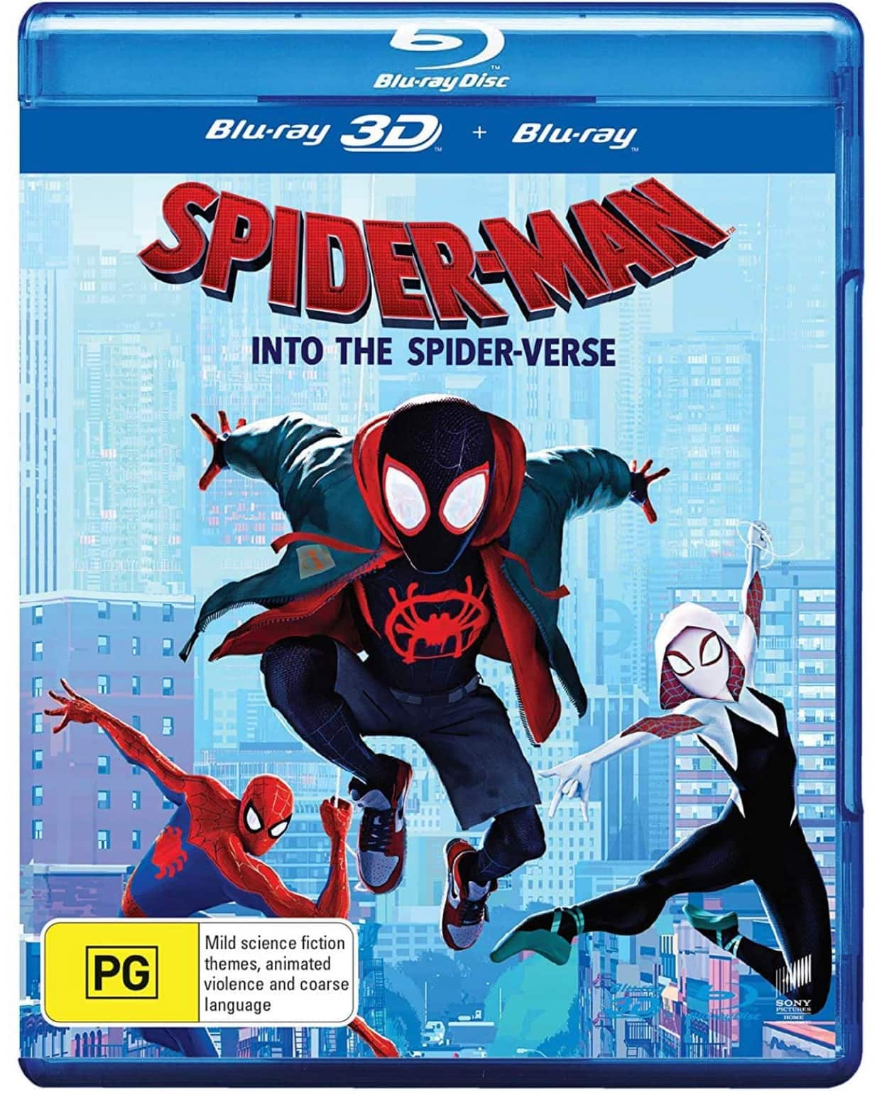 Spider-Man: Into the Spider-Verse 3D (Blu-ray 3D/Blu-ray) Region-free $19.99