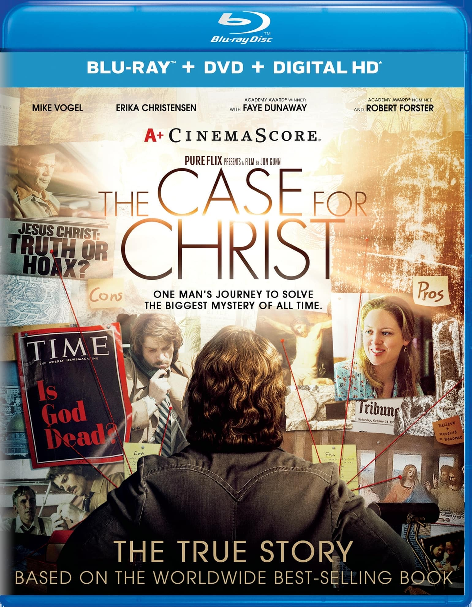The Case for Christ (Blu-ray + DVD + Digital HD) $5 @ Amazon or Walmart with VUDU instawatch + pickup