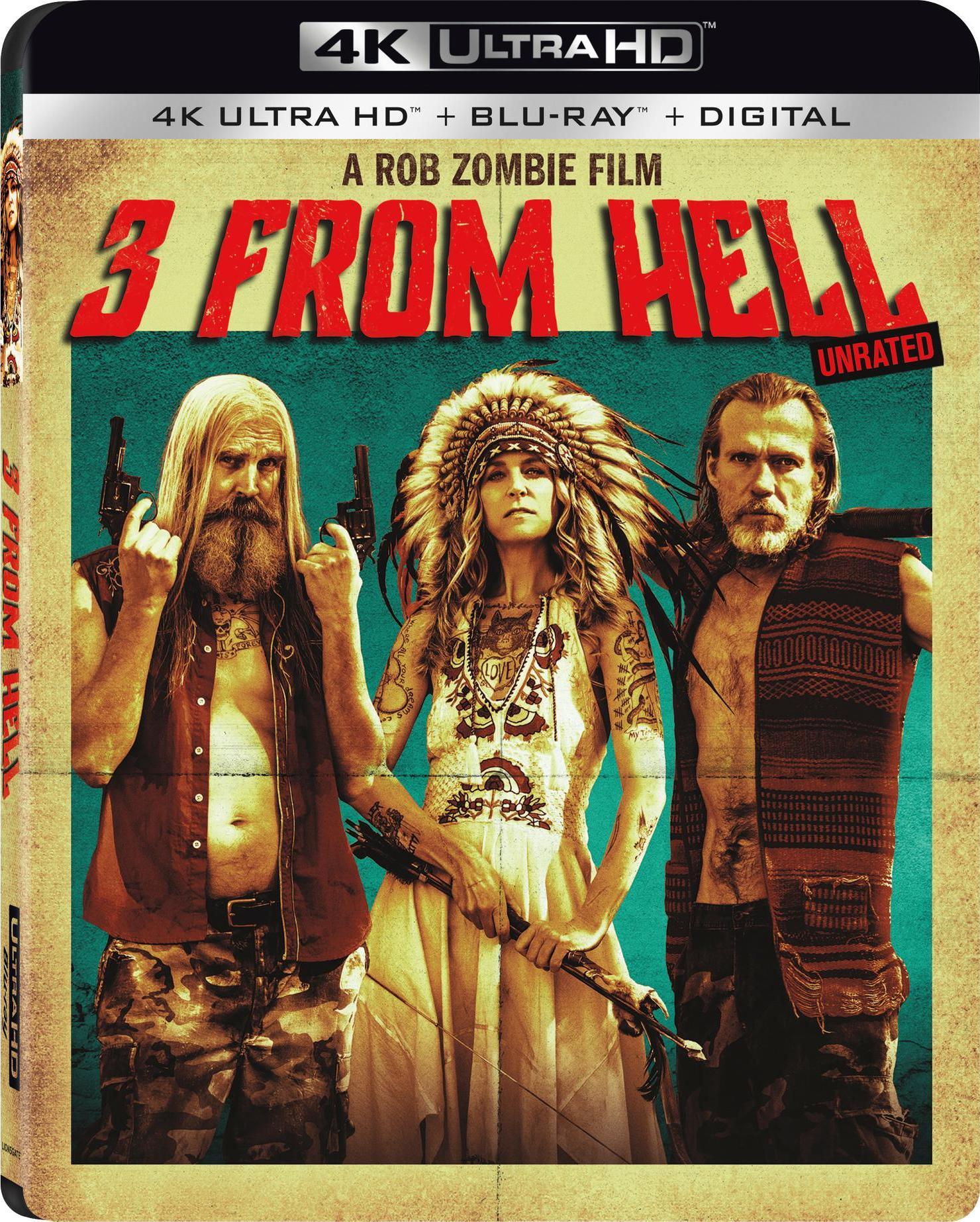 3 From Hell (4K Ultra HD + Blu-ray + Digital Copy) $11.99 @ Walmart/Amazon