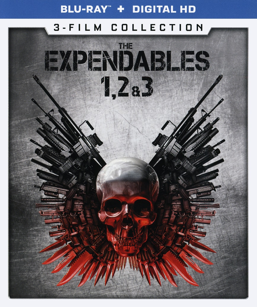 The Expendables 3-Film Collection [Blu-ray + Digital] $8.99 @ Amazon / Best Buy