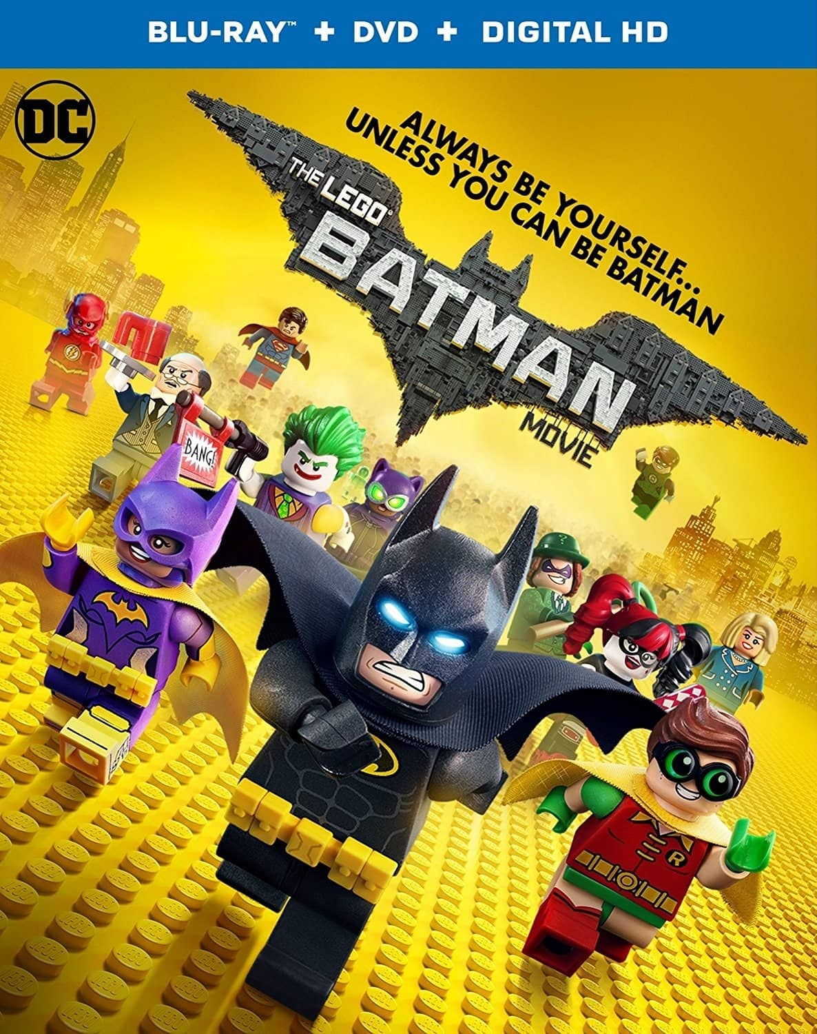The Lego Batman Movie or The Lego Ninjago Movie (Blu-ray + DVD + Digital) $5.99