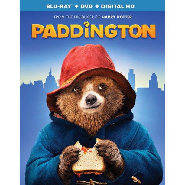 Paddington (Blu-ray + DVD + Digital) $5 @ Walmart