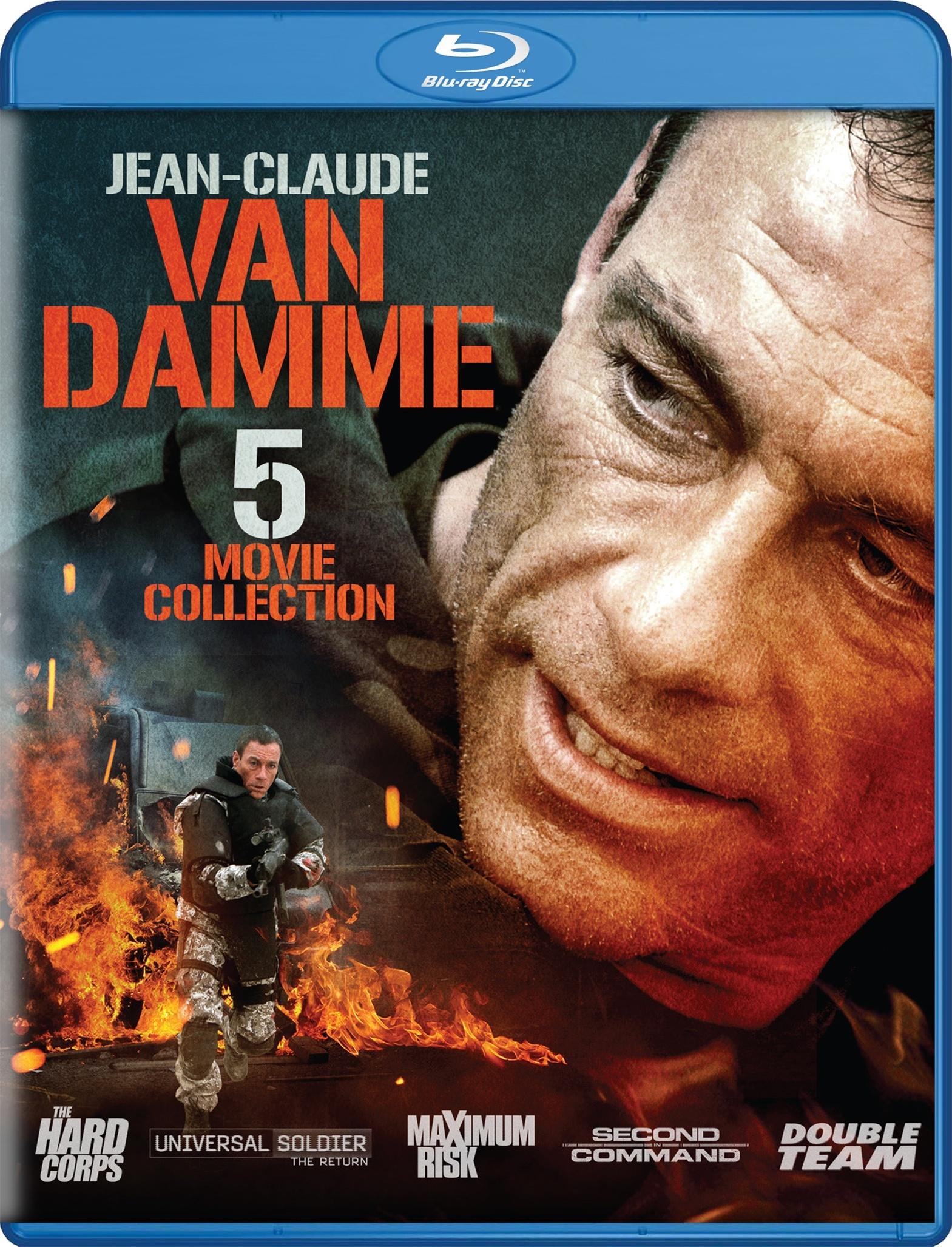 Jean-Claude Van Damme - 5 Movie Pack (Blu-ray) $6.99