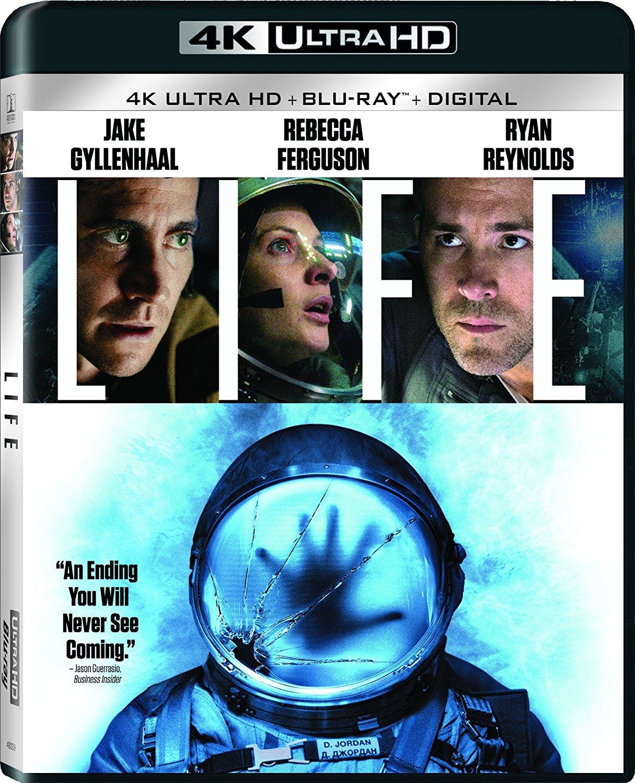 Life (4K UHD + Blu-ray + Digital) $12.99 @ Best Buy / Amazon