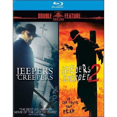 Jeepers Creepers & Jeepers Creepers 2 Double Feature  (Blu-ray) $10