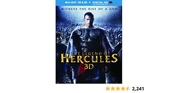 The Legend Of Hercules [Blu-ray 3D/2D + Digital HD] $6.96 - $6.96