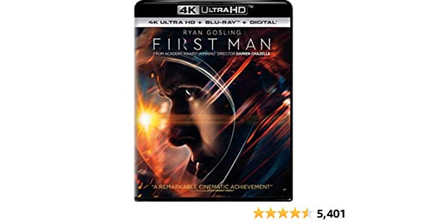 First Man [4k Ultra HD + Blu-ray + Digital] $9.99 - $9.99