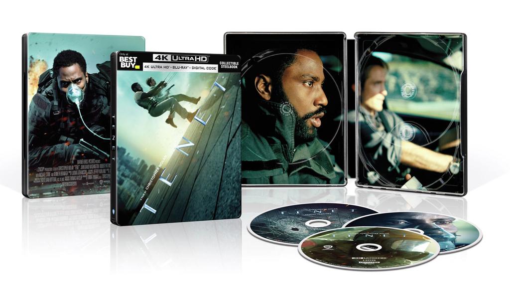 Tenet [SteelBook] [4K UHD + Blu-ray + Digital] $24.99 - $24.99