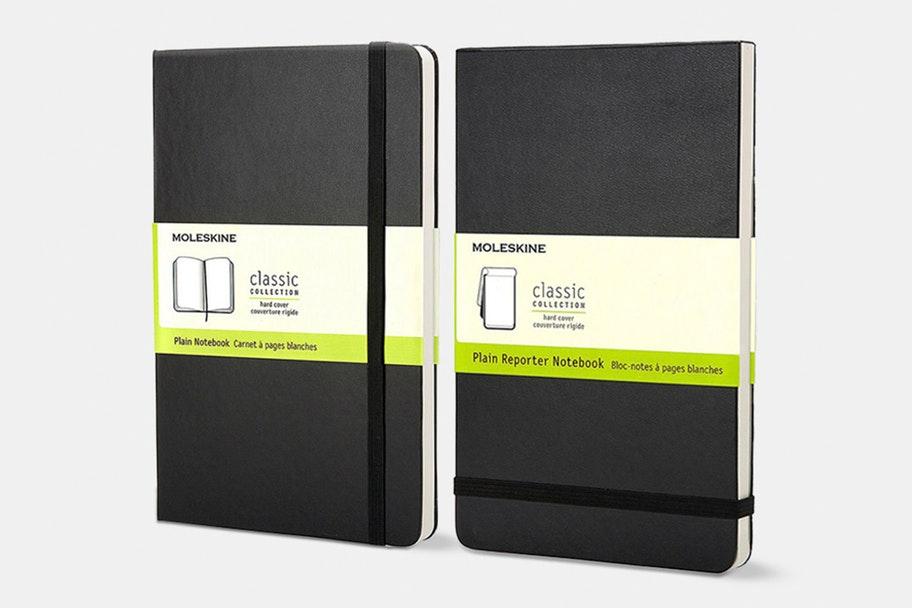 Moleskine Large Notebook (2-Pack) + Free Shipping (Flash Sale) $21.99