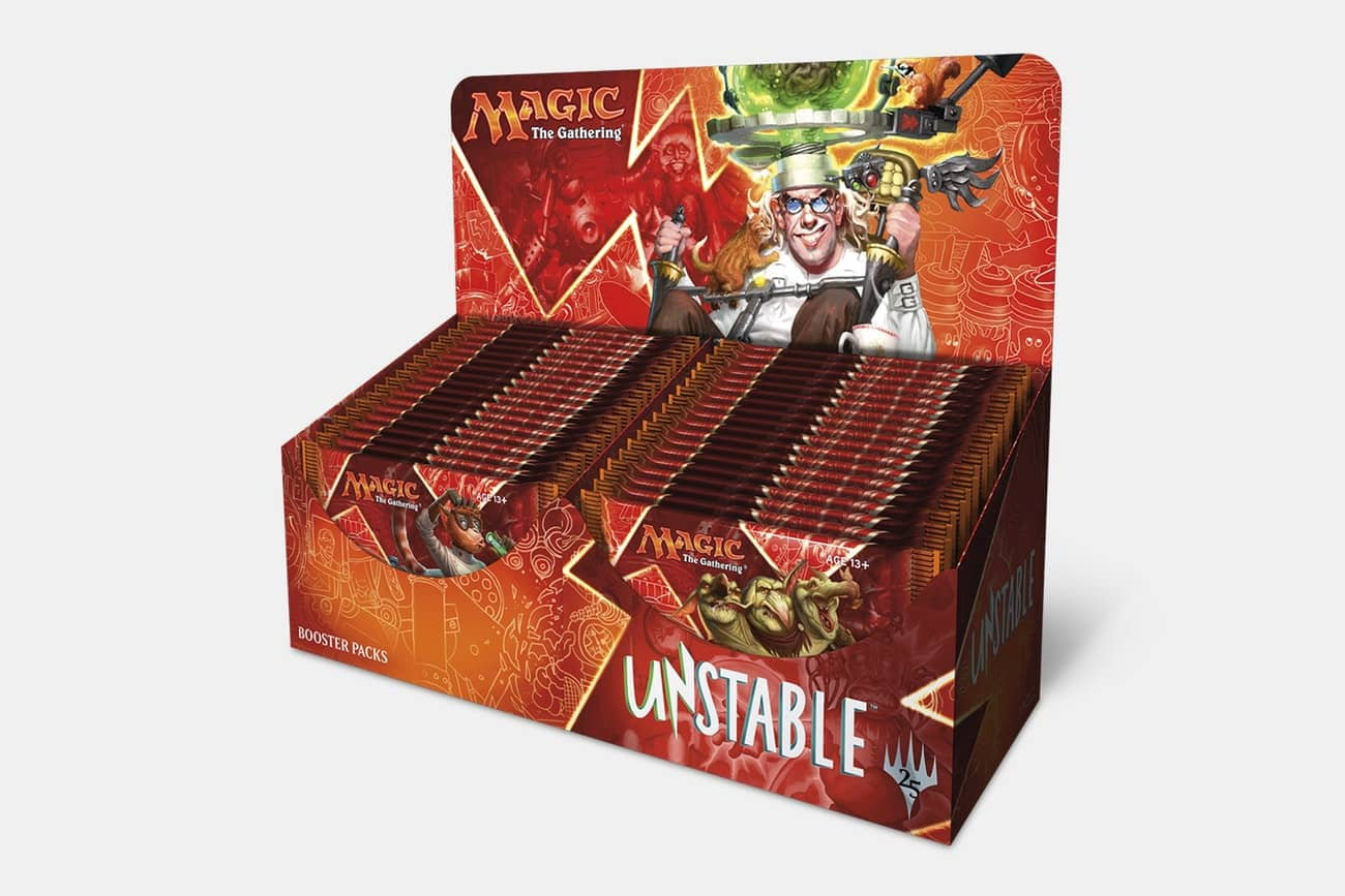 Magic the Gathering Unstable Booster Box Preorder $88.99