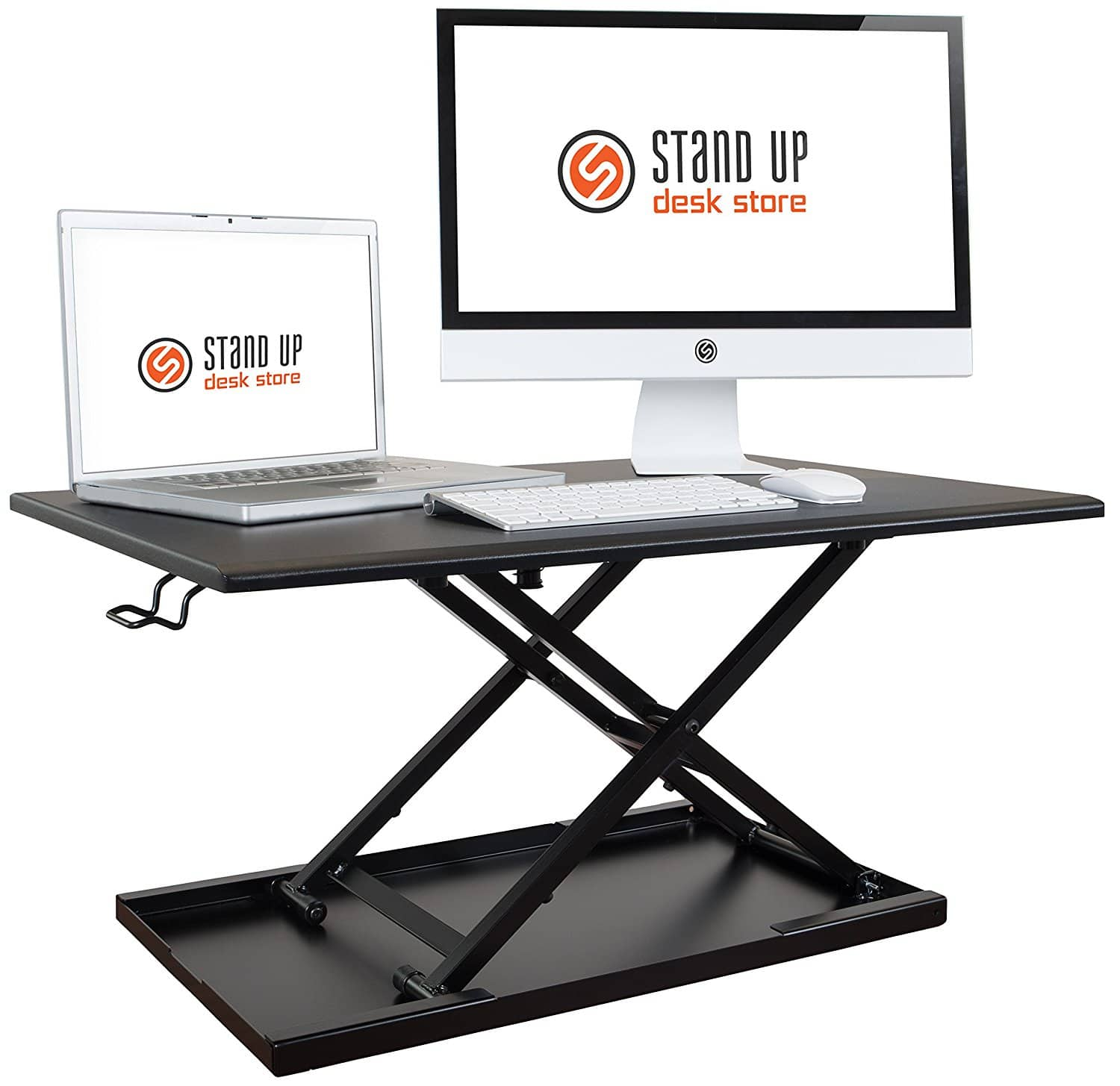 Stand Up Desk Store - Air Rise Standing Desk Converter (Lightning Deal) + Free Shiping $108.79