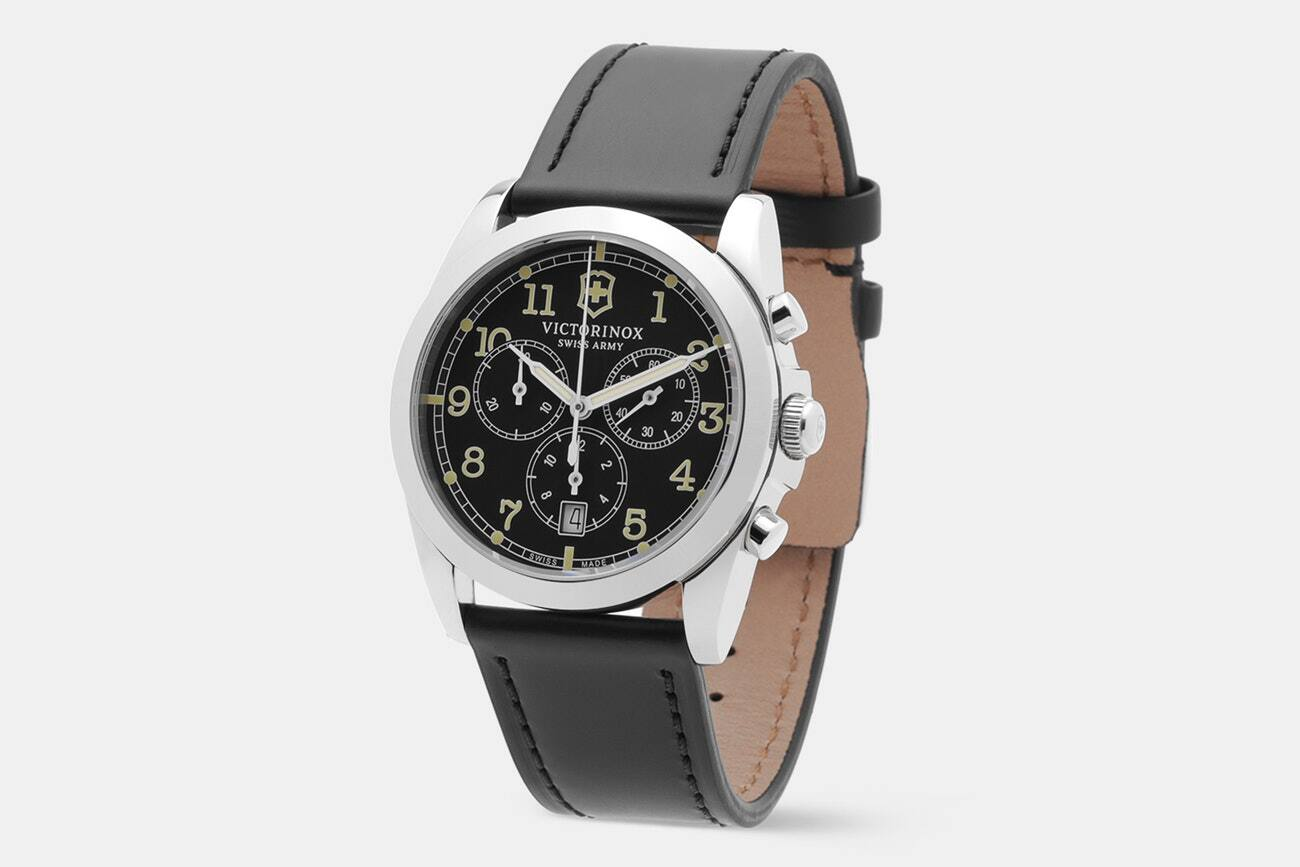 Victorinox Infantry Vintage Chrono Quartz Watch /w Free Shipping $129.99