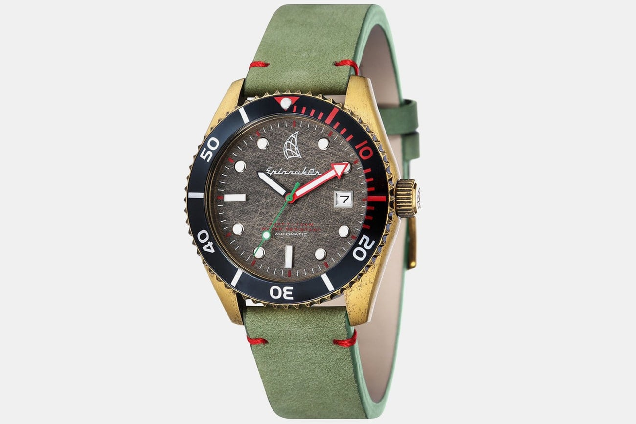 Spinnaker Wreck Automatic Watch /w Free Shipping $129.99