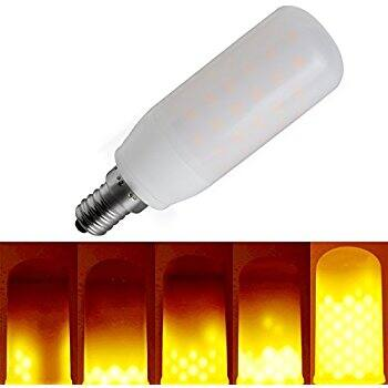 Kindeep - LED Flame Light Bulb /w 3 Modes (3W & 5W) 37% Off $6.92