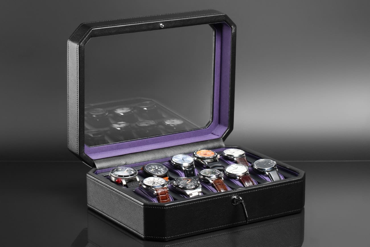 Wolf Windsor 5, 10, 15 Piece Watch Box starting from $57.99