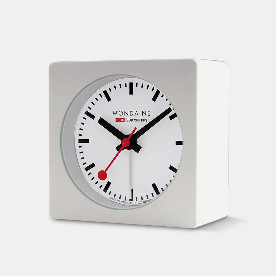 Mondaine Square Desk Alarm Clock + F/S $54.99