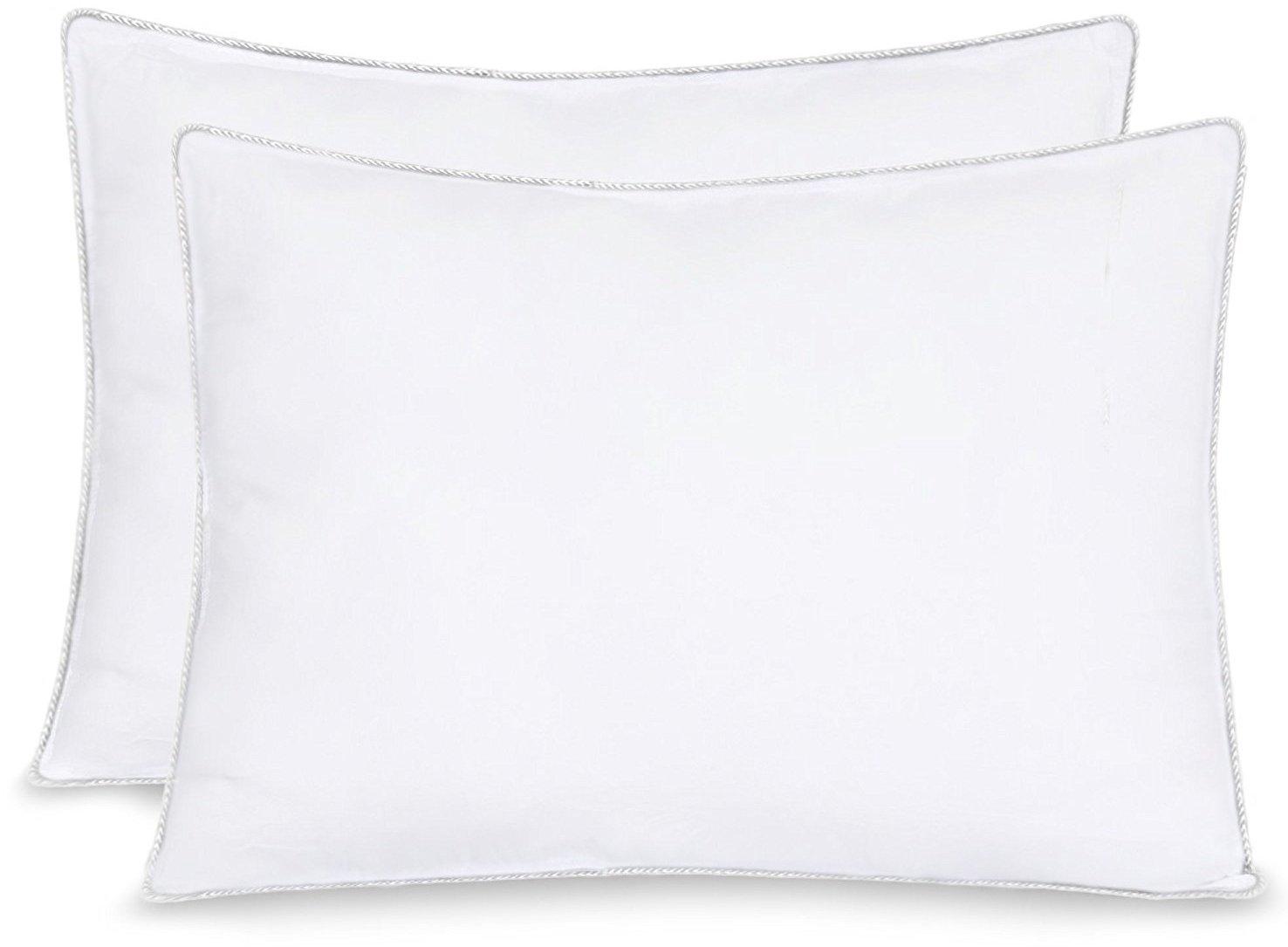 "Equinox - 2-Pack Ultra Soft Bed Pillows 20"" x 26"" $14.95"