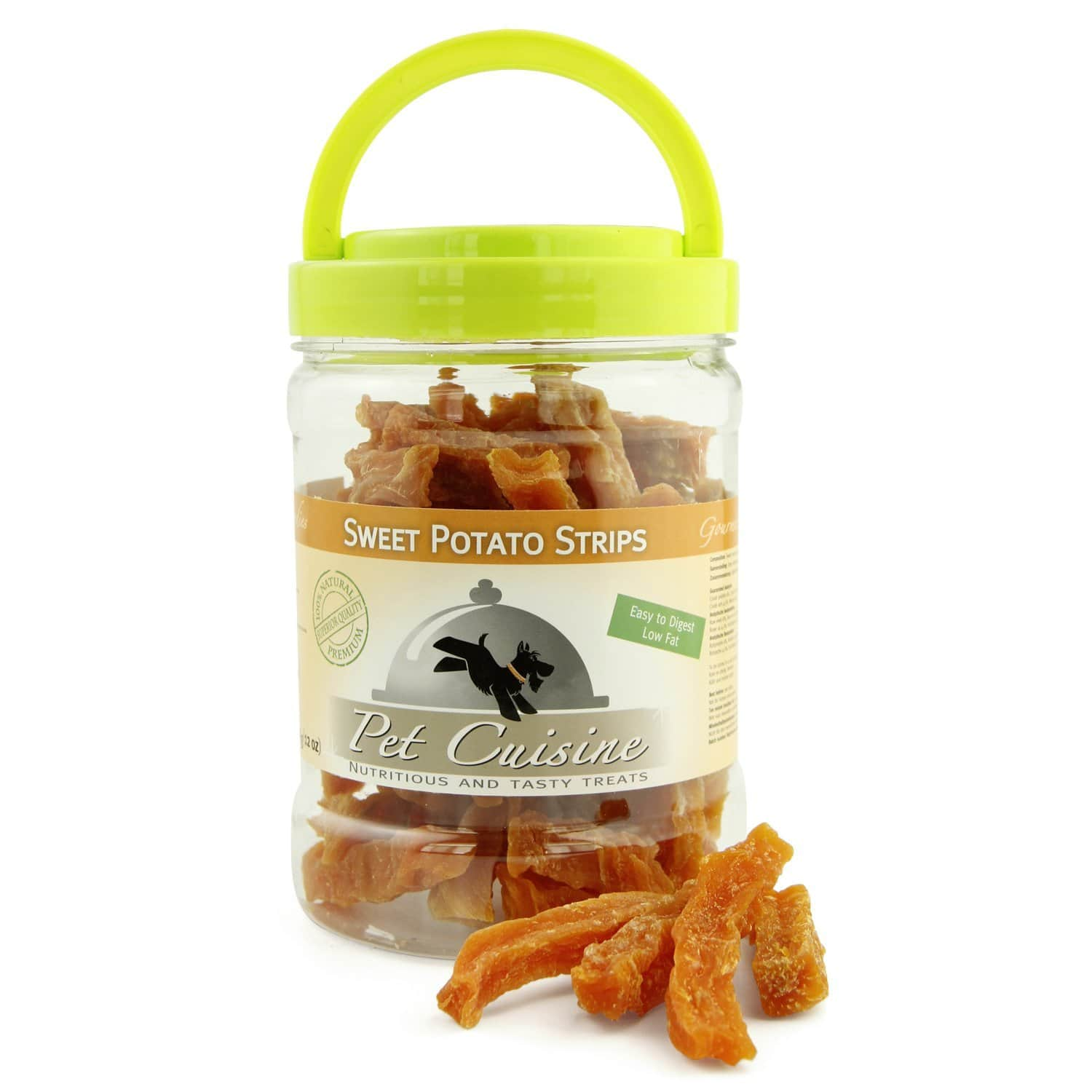 Pet Cuisine - 50% Off Dog Treats Training Snacks, Sweet Potato Strips (340g) $4.45