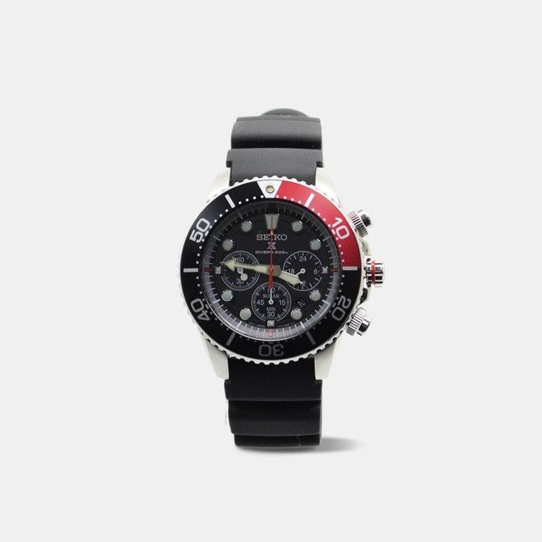 Seiko - Prospex Sea Diver's Chronograph Solar Watch $209.99