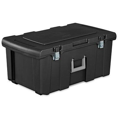 Sterilite - Wheeled FootLocker (23 Gallon/92 Quart) $17.99