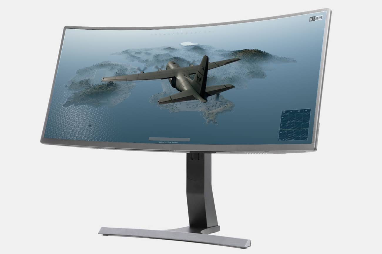 Massdrop - Vast 35-Inch Curved Gaming Monitor w/ F/S $599.99