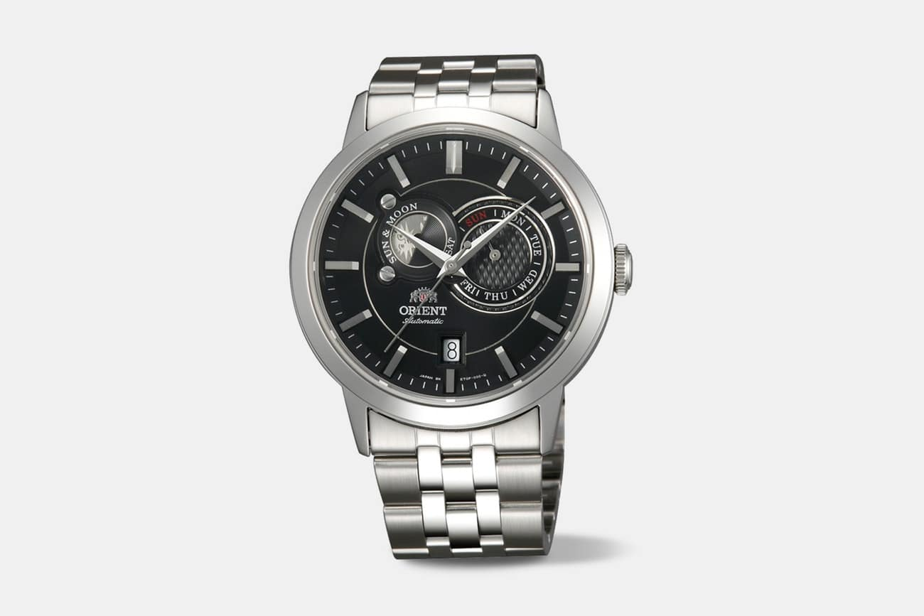 Orient - Men's Executive Sun & Moon Automatic Watch (Various Styles) + Free Shipping $179.99