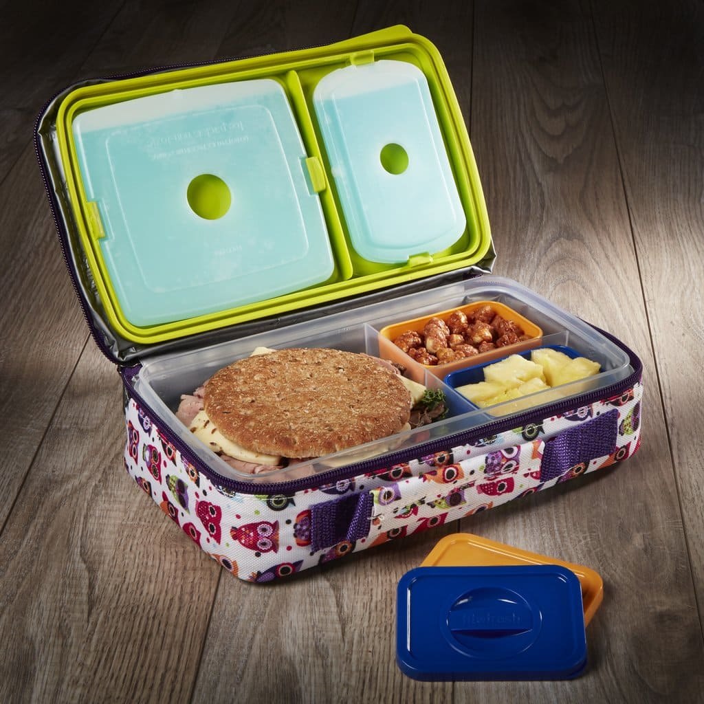 Fit & Fresh - $10 Off Bento Box Lunch Set with Insulated Carry Bag + F/S