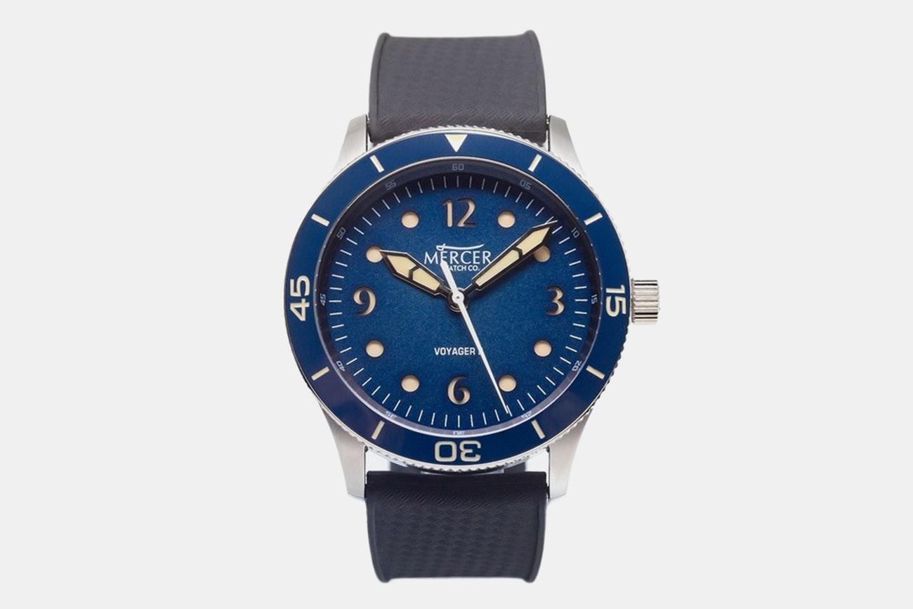 Mercer - Men's Voyager II Automatic Watch + F/S $249.99
