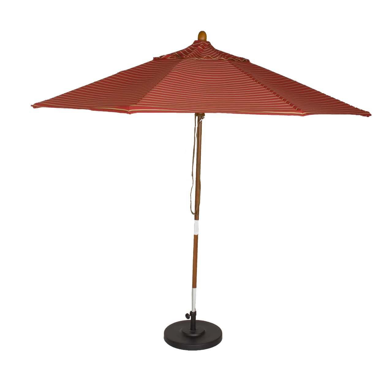 Phat Tommy - $80 Off 9 ft. Marenti Wood Outdoor Sunbrella (Various Colors) + F/S $139.95