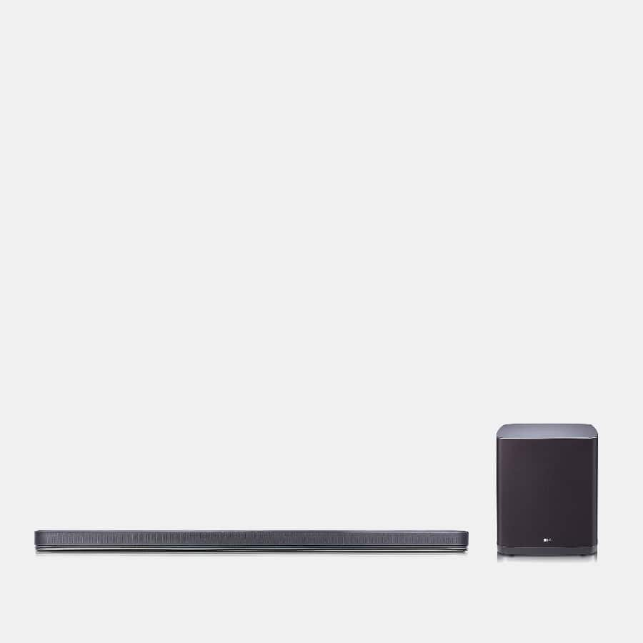 LG - SJ9 5.1.2CH Hi-Res Audio Dolby Atmos Sound Bar + F/S $449.99