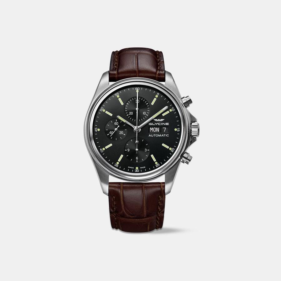 Glycine - Men's Combat Classic Chronograph Automatic Watch + F/S $799.99