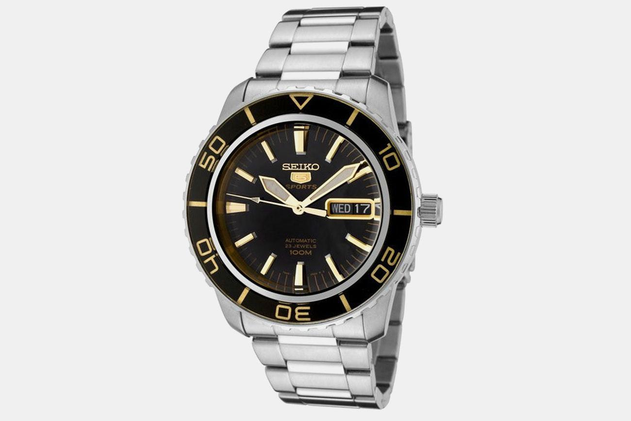 Seiko - Men's Automatic SNZH Watch + Free Shipping $129.99