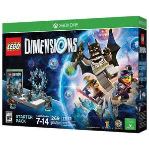 Interactive LEGO Dimensions Starter Pack, Warner Bros. (Used Xbox One) + Free Shipping $15.60