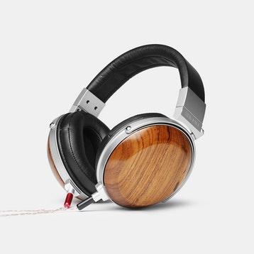 E-Mu - Wood Series Headphones w/ Removable Cable (Teak, Rosewood, Ebony) + Free Shipping $499.99