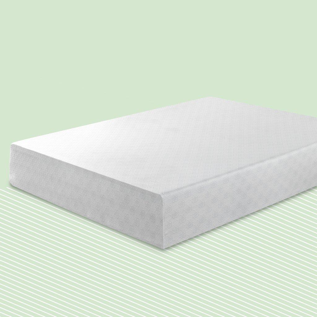 Zinus - Extra 15% Off Gel-Infused Green Tea Memory Foam Mattresses - 6'' Twin: $79.48, Full: $101.05, Queen: $115.60, 8'' Full: $130.05, 10'' Queen: $187.85 & More + Free S/H
